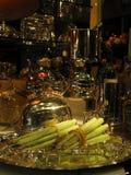 Pranzo operato dell'asparago Immagini Stock