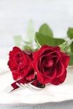 Pranzo per il giorno dei biglietti di S. Valentino Fotografia Stock Libera da Diritti