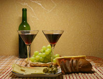 Pranzo romantico per due Fotografia Stock