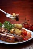 Pranzo tradizionale Fotografie Stock