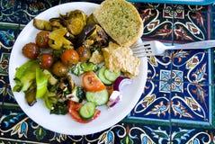 Pranzo vegetariano Fotografie Stock Libere da Diritti