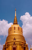 Prapadang do templo em Tailândia imagens de stock