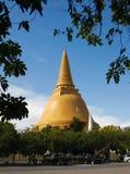 Prapathomjedi tempel Fotografering för Bildbyråer