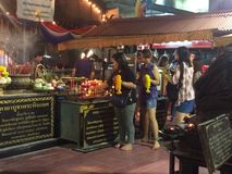 Praprom prapigkanet markt Stock Foto's
