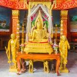 Praput Shinnaraj Buddah Arkivfoton