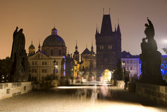 Praque - Charles bridge Stock Photo