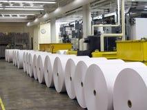 prasa w papierowej Fotografia Stock