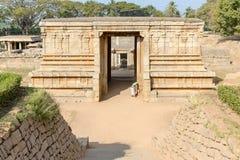 Prasanna Virupaksha temple, Hampi, Karnatak. Prasanna Virupaksha temple underground temple in Hampi, Karnataka, India, Asia royalty free stock photos