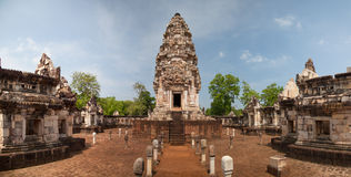 Prasart Sadokkokthom, Ancient castle in Thailand Stock Photography