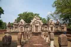 Prasart Sadokkokthom, forntida slott i Thailand Royaltyfria Foton
