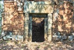 Prasat Ba寺庙吴哥时代 免版税库存照片