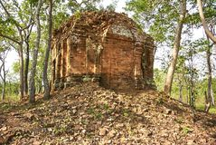 Prasat Ba寺庙吴哥时代 免版税库存图片