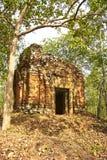 Prasat Ba寺庙吴哥时代 图库摄影