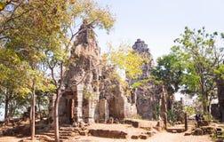 Prasat Banan temple in  Battambang, Cambodia. Southeast Asia stock photos