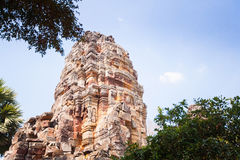 Prasat Banan temple in  Battambang, Cambodia Stock Image