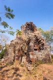 Prasat Banan temple in  Battambang, Cambodia Royalty Free Stock Photo