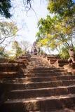 Prasat Banan temple in  Battambang, Cambodia. Southeast Asia royalty free stock image