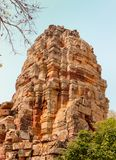Prasat Banan temple. Sanctuary Pagoda Prasat Banan temple Battambang, Cambodia, Southeast Asia royalty free stock photo