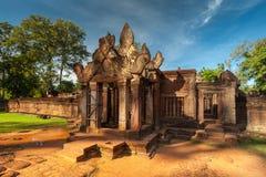 Prasat banteay Srei anglicanism Καμπότζη Στοκ Φωτογραφίες