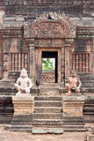 Prasat Banteay Srei at cambodia Royalty Free Stock Image