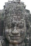 Prasat Bayon在吴哥的高棉寺庙在暹粒柬埔寨 库存照片