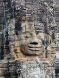 Prasat Bayon寺庙在吴哥城,柬埔寨 免版税库存照片