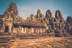 Prasat Bayon, Angkor, Siem Reap, Cambodia. Stock Image