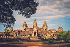 Prasat Bayon, Angkor Thom, near Siem Reap, Cambodia Royalty Free Stock Photography