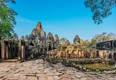 Prasat bayon Angkor Thom Stock Image