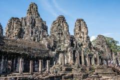 Prasat Bayon in Cambodia Royalty Free Stock Photo
