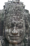 Prasat Bayon Khmer temple at Angkor in Siem Reap Cambodia. Stock Photos