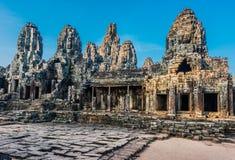 Prasat bayon temple Angko Cambodia Royalty Free Stock Photos