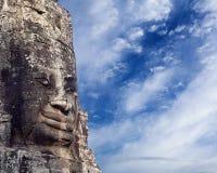 Prasat Bayon Temple, Angkor, Cambodia Stock Images