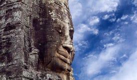 Prasat Bayon Temple, Angkor, Cambodia Royalty Free Stock Photos