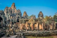 Prasat bayon temple angkor thom cambodia Stock Image
