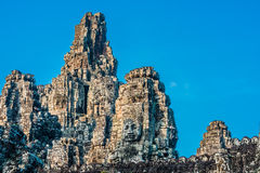 Prasat bayon temple Angkor Thom Cambodia Royalty Free Stock Photography
