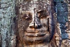 Prasat Bayon Temple in Angkor Thom, Cambodia Royalty Free Stock Image