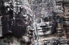 Prasat Bayon Temple in Angkor Thom, Cambodia Stock Photography