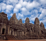 Prasat Bayon Temple in Angkor Thom, Cambodia Stock Images