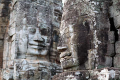 Prasat Bayon Temple in Angkor Thom, Cambodia Royalty Free Stock Photography