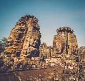Prasat Bayon temple, Siem Reap, Cambodia. Royalty Free Stock Photography