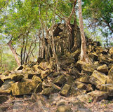 Prasat Beng Mealea στην Καμπότζη Στοκ φωτογραφίες με δικαίωμα ελεύθερης χρήσης
