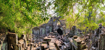Prasat Beng Mealea in Cambodia Stock Images