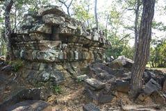 Prasat Boeung Khna寺庙吴哥时代 免版税库存图片
