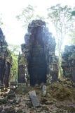 Prasat Chrapa Angkor Świątynna era zdjęcie stock
