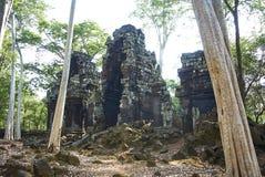 Prasat Chrapa Angkor Świątynna era obrazy stock