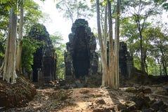 Prasat Chrapa Angkor Świątynna era obraz royalty free