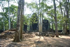 Prasat Chrapa Angkor Świątynna era obraz stock