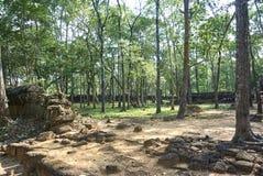 Prasat Chrapa Angkor Świątynna era zdjęcia stock