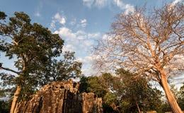 Prasat Chrong暹粒,柬埔寨 图库摄影